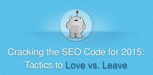 SEO Tactics to leave behind in 2015 (and some to add)